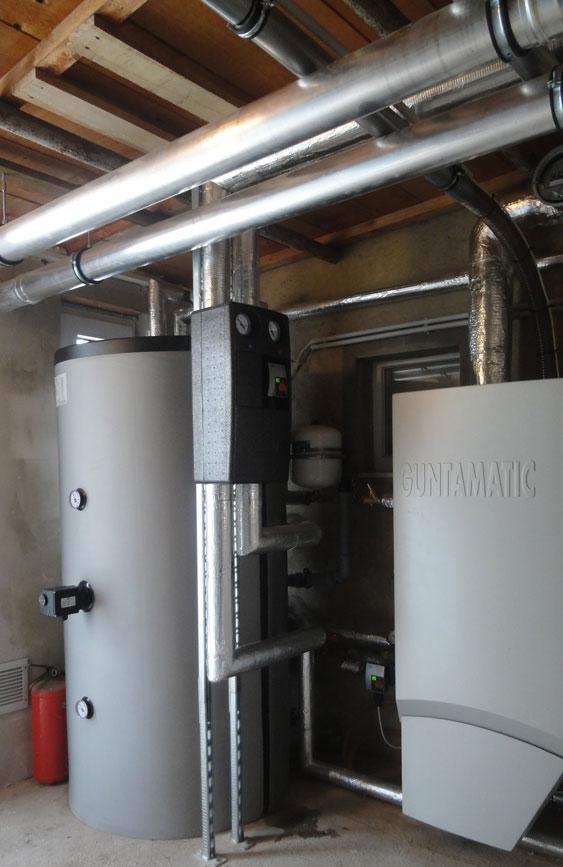 Biomasseheizung von Guntamatic